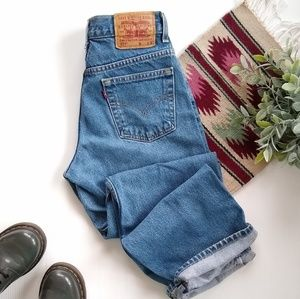 Vintage Levi's 577 loose fit high rise mom jeans